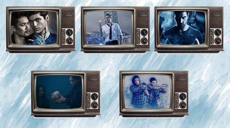Top 5 seriali o łowcach
