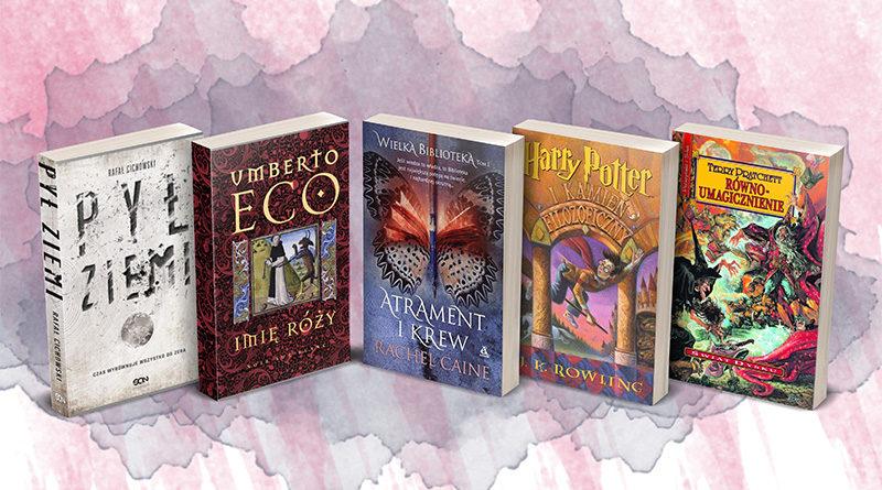 Top 5 książek z motywem biblioteki